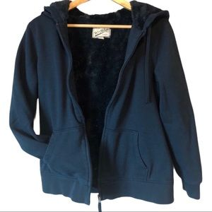 BC CLOTHING CO. | plush lined zip up hoodie